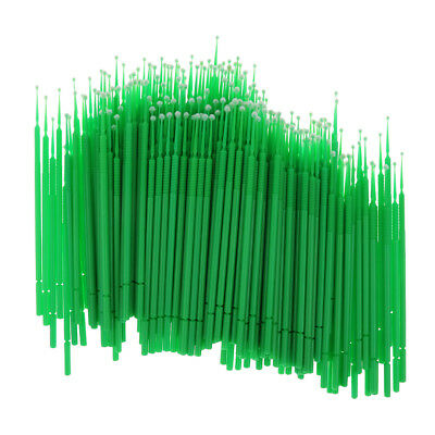 200 Bendable Dental Dentist Disposable Micro Brushes Swab Tip Applicators L