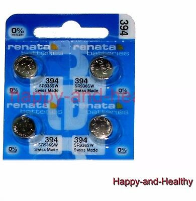 Renata SR936SW 394 Silver Oxide coin Battery x 4 pcs FREE Post world-wide