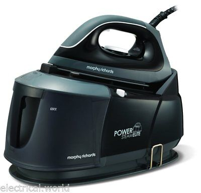 Morphy Richards Power Steam Elite Pressurised Steam Generator Iron - Black