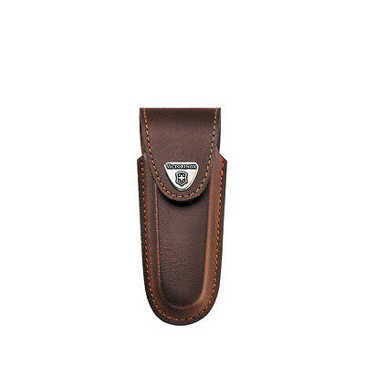 Victorinox Outdoor Camp Brown Leather Sheath f/ 2-3 Layer Swiss Army Blade Knife
