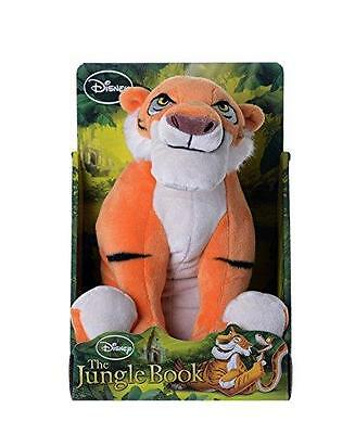 New Disney The Jungle Book 10 Inch Shere Khan Soft Plush Toy
