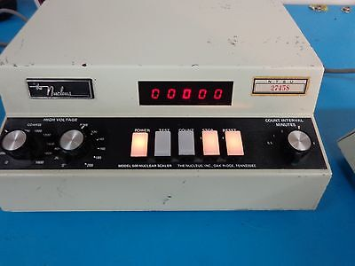 The Nucleus  Model 500  Nuclear Scaler  Voltage  Timer