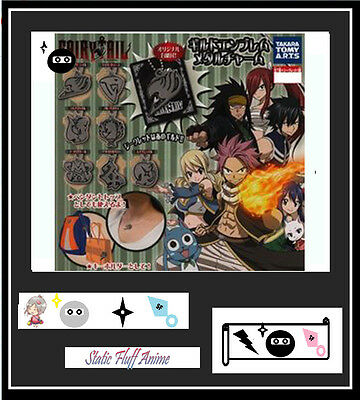 Fairy Tail Guild Emblem Anime Metal Charm
