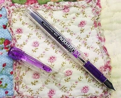 free ship clear VIOLET Platinum Preppy Fountain Pen 0.3 F PPQ-200 VIOLET ink
