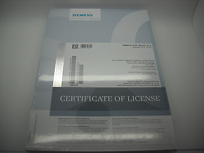 Siemens Simatic SUS WinCC v7.4 software w/key FACTORY SEALED S79220-B6558-F888