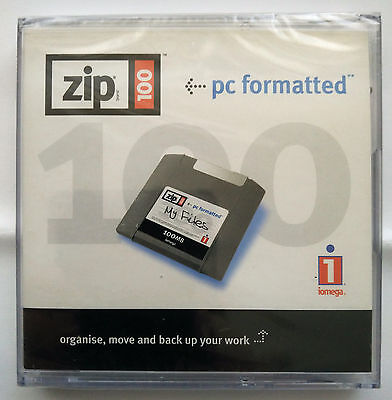 Iomega ZIP-Disk 250 MB - NEW and sealed