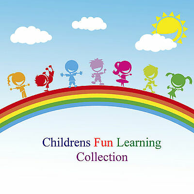 Children Fun Learning Times Tables Alphabet 100 Nursery Rhymes & Songs 5 CDs