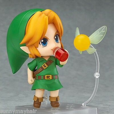 Legend of Zelda 3D Link Q Edition Disguises the Clay Model Figure Toys Doll