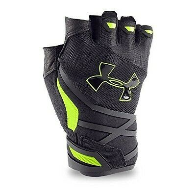 Under Armour Men's Resistor Gloves, XX-Large, Black/Fuel Green