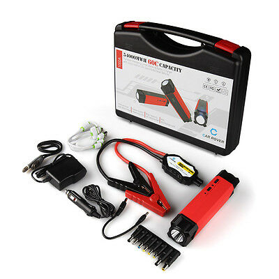 1000A Peak 54000mWh Portable Car Jump Starter Battery Booster Charger Power Bank