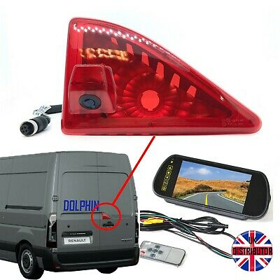Renault Master Reversing Van Camera Kit and Large Mirror Monitor (2010 -Present)