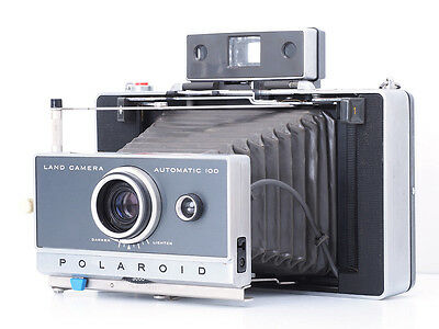 `Polaroid Automatic 100 Instant Film Land Camera For Parts Or Repair