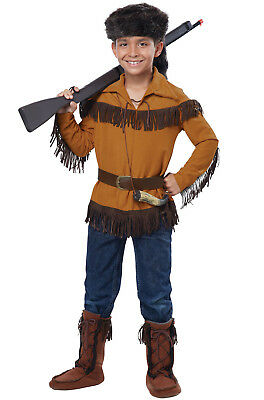 Frontier Boy/Davy Crockett Outfit Child Costume