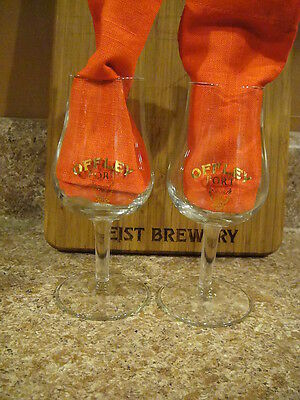 Offley Port Tulip Stemmed Set of 2 Glasses AWESOME GIFT IDEA!