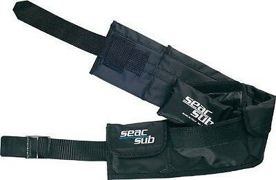 SEAC Scuba Diving Belt with Weight Pockets (Large)