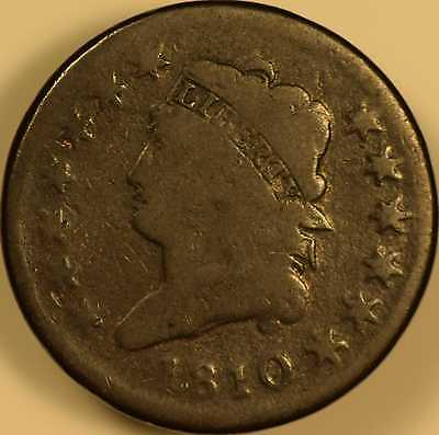 1810 Classic Head Large Cent Good