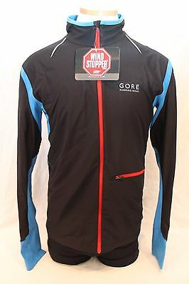 New Gore Men's Air Windstopper Soft Shell Jacket Large Running Bike NWT $160