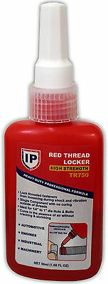 Hold Tight Thread Lock Red Permanent 50 ML