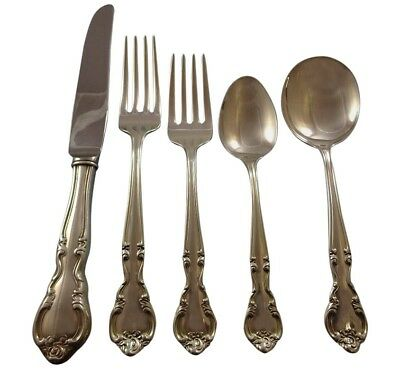 American Classic by Easterling Sterling Silver Flatware Set Service 46 Pieces