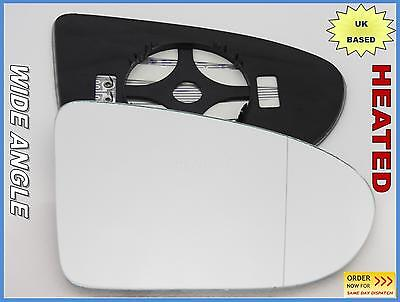 Wing Mirror Glass  NISSAN QASHQAI 2006-2013 Wide Angle HEATED Right Side #JN023