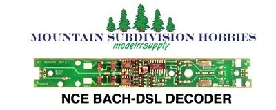 NCE BACH-DSL Bachmann DCC Replacement Decoder 524-139