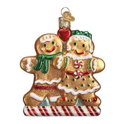 """Gingerbread Friends"" (32219) Old World Christmas Glass Ornament"