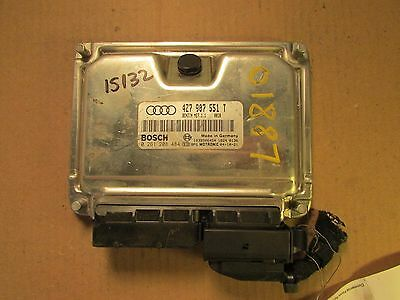 2002 Audi Allroad 2.7T ECU ECM 4Z7 907 551 L 4Z7907551L Engine Computer IMMO OFF