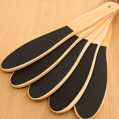 Double Sided Foot Rasp File Callus Wood Dead Skin Cleaner Pedicure Scrubber Kit