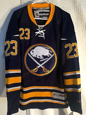 NHL Buffalo Sabres Leino Premier Ice Hockey Shirt Jersey