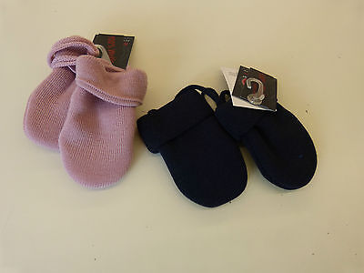 Baby-Handschuhe aus Wolle Maximo - SALE