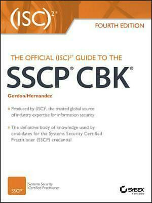 The Official (ISC)2 Guide to the SSCP CBK by Adam Gordon (English) Hardcover Boo