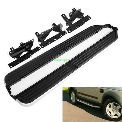 3/4 Running Boards Side Steps + FREE FITTING CLIP For Land Rover Discovery