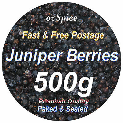 Juniper Berries 500g - Herbs Teas Chillies & Spices - ozSpice