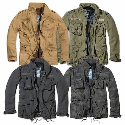 Brandit M65 Giant Mens Military Parka Us Army Jacket Winter Warm Zip Out  Liner 208f42d7199