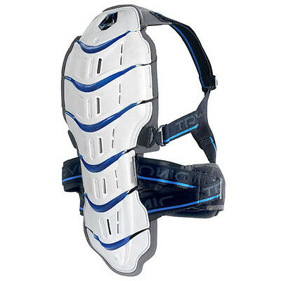 Tryonic Feel 3.7 Back Protector White / Blue