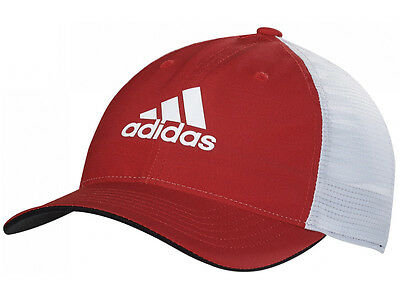 Adidas Mens ClimaCool Flexfit Cap - Power Red/Clear Grey