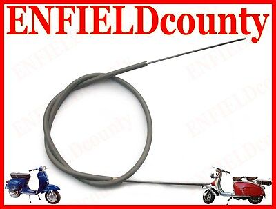 New Vespa Friction Free Rear Brake Cable Vbb Vbc Vlb & Old Vespa Models @uk