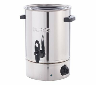Burco 10L Electric Manual Fill Water Boiler Stainless Steel - Catering, Retail