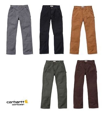 Carhartt Arbeitshose EB136 Bundhose Washed Double-Front Work Dungeree NEUWARE