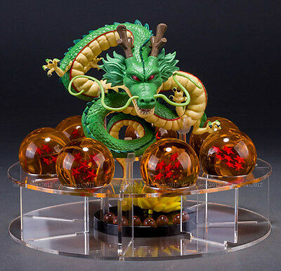 JP Anime Cartoon Dragon Ball Z Stars Crystal Dragon Shenlong Display Shelf Gift