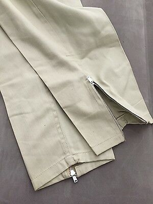 1950s Vintage BUCKLE BACK Pants for Women ULSTER Jr. RODEO Ankle ZIPPERS NOS
