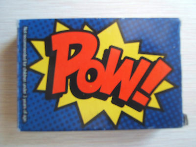 Pow Playing Cards Boom Wham Superhero Fight Style Deck of Cards