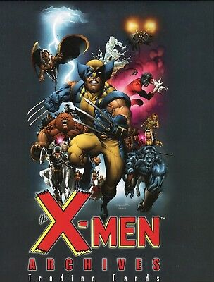 X-Men Archives Card Album