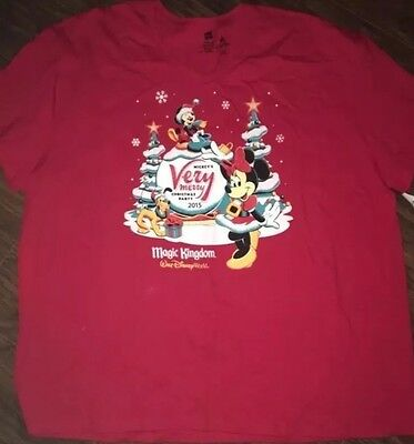 Brand New With Tags Mickeys Very Merry Christmas Party Women's Shirt Size 3xl