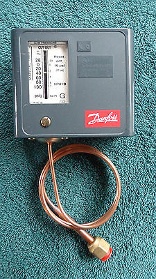 New in Box Danfoss Low Pressure Control KPU1B