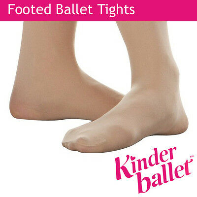 Ballet Tights Dance Tights Childrens Footed  Tights - NEW