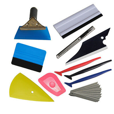 Car Wrap Application Tools Window Tint Squeegee Gasket Scraper Micro TUCK USA