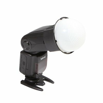 New White Color Temperature Global Diffuser Cover Softbox For Flash Speedlite