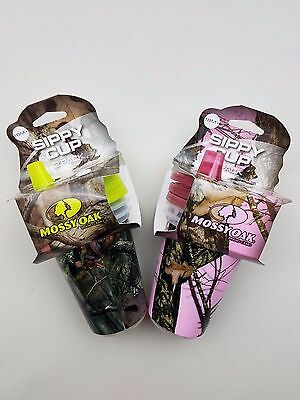 Mossy Oak 10oz  baby 18 month Sippy Cup 3 pack BPA FREE