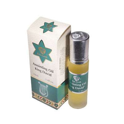 NEW !!! Roll On Anointing Oil King David 0.34oz From Holyland Jerusalem